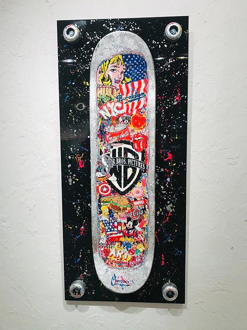 Skate Black Board