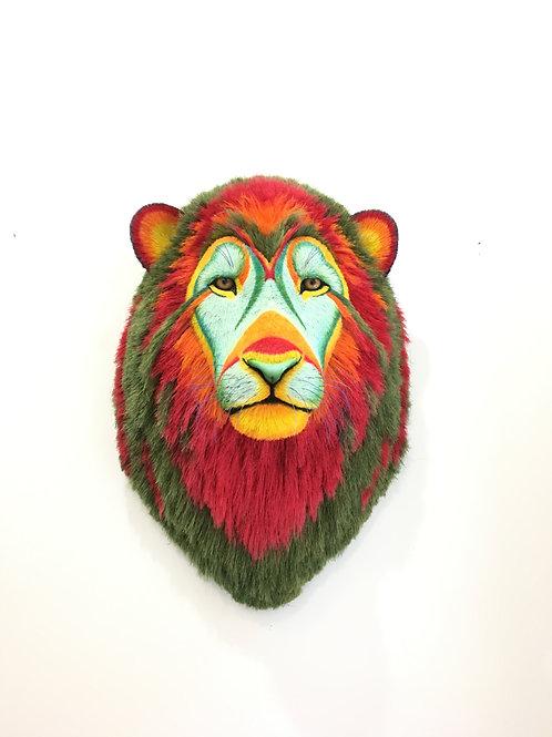 Tropical lion head