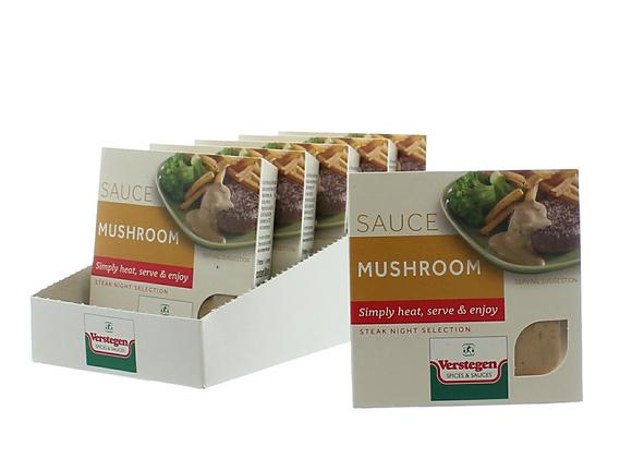 Mushroom Microwave Sauce
