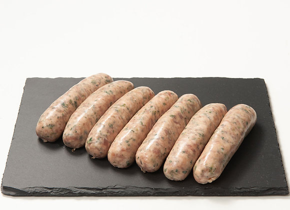 Gluten Free Pork & Leek Sausages