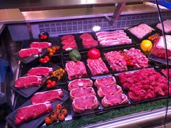 Williams & Son Steak Display