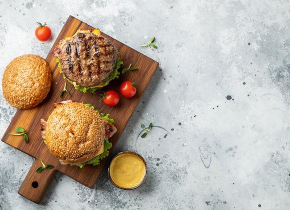Flame Grilled 'Big 8oz Burger'