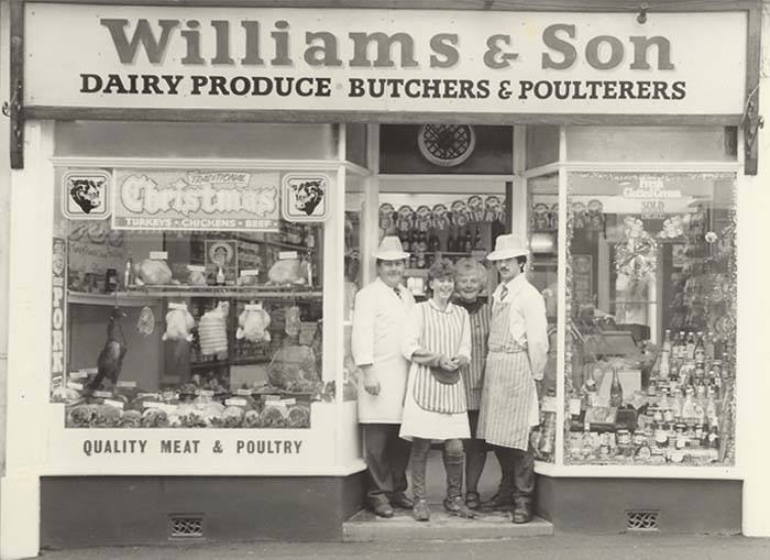 Williams & Son Butchers 1980's