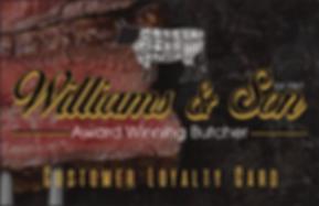 Williams & Son Loyalty Scheme