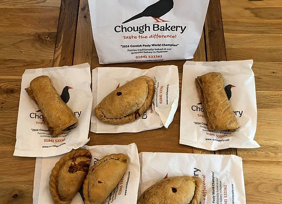 The Chough Bakery Pasty Bundle