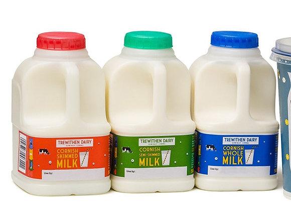 1 Pint Semi Skimmed Milk