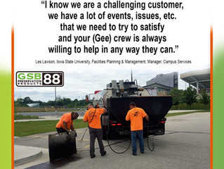 Gee Quality Products and Expert Service year after year!