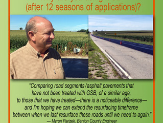Why are you using GSB® (after 12 seasons of GSB® applications)?