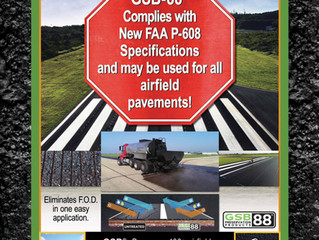 New FAA P-608 Specification Calls for Emulsified Asphalt Seal Coat