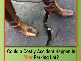 GSB-88® Saves Money / Improves Safety in Parking Lots!