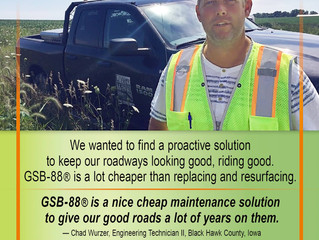 Why did Black Hawk County chose GSB-88® and Gee?