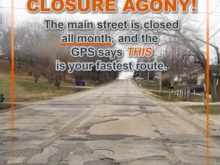 Spring Street Closure Agony!