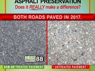 Asphalt Preservation: Does it really make a difference?