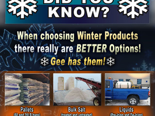 Did you know? (Winter Products)