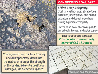 Considering Coal Tar Sealant? You may be doing more harm than you think!
