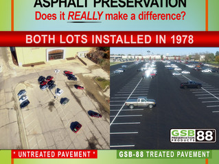 Asphalt Preservation— Does it REALLY make a difference?