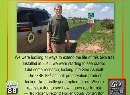 GSB® Preserves The Rolling Prairie Trail