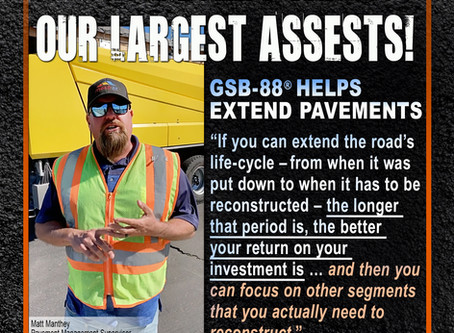 Our roads are our largest assets!