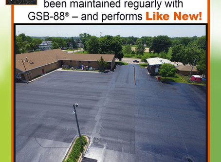 Tests show Gilsonite-based sealer extends pavement life.