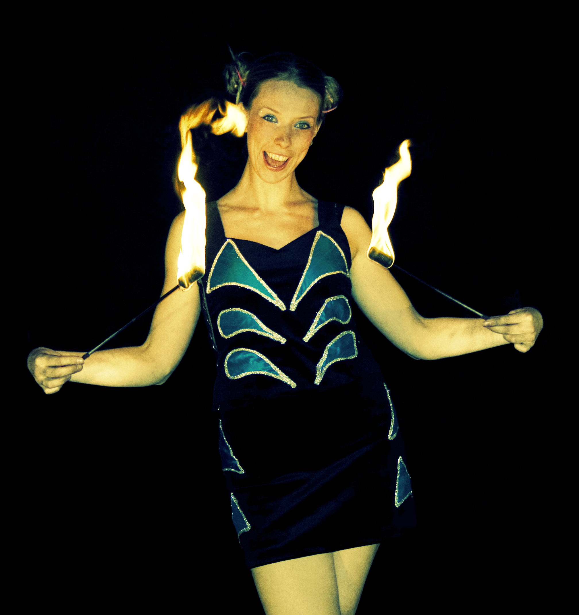 Tilly Twist - Fire Show