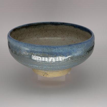 Large blue bowl