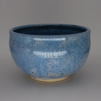Large pale blue bowl