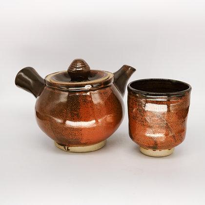 Persimon Japanese tea set
