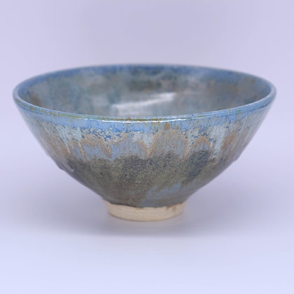 Blue-iron bowl