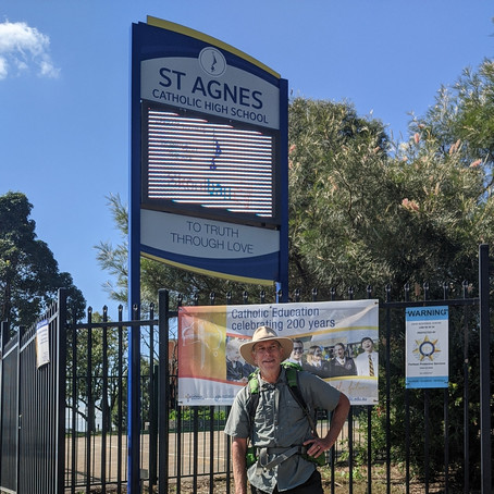 Day 28:Penrith to Rooty Hill, 26kms