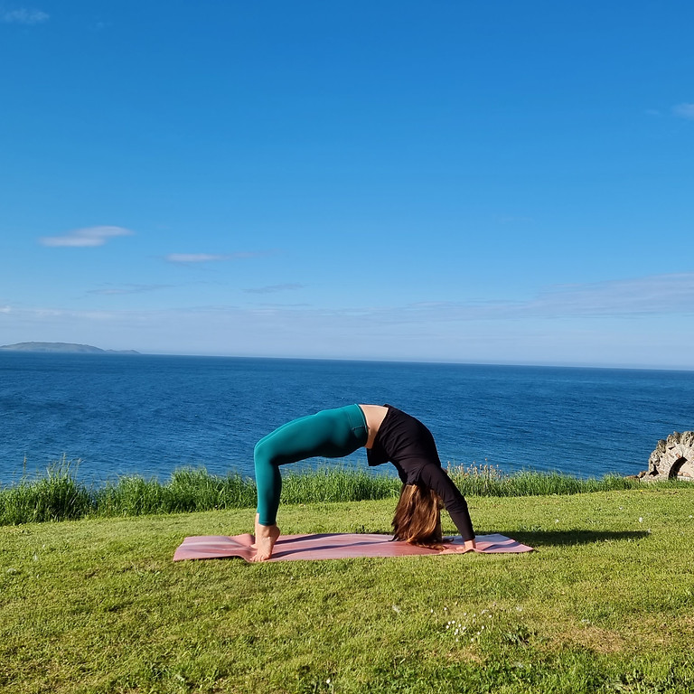Yoga Outdoors in Howth