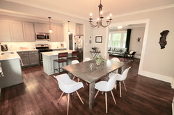dining / kitchen after