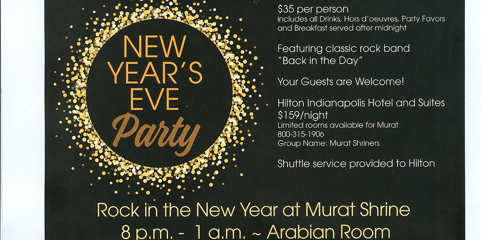 Murat New Years Eve Party 2019