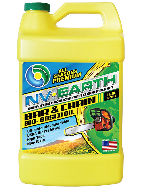NV EARTH Ultimate Biodegradable Pro Chain Oil 1gal (CASE of 4)