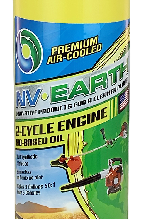 NV EARTH Bio-based Synthetic 2 Cycle Oil 12.8oz (CASE of 20)