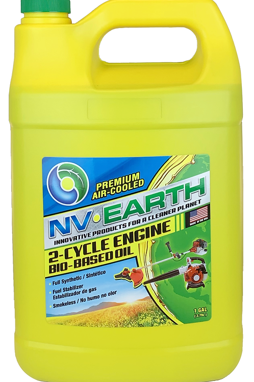 NV EARTH Bio-based Synthetic 2 Cycle Oil 1gal (CASE of 4)
