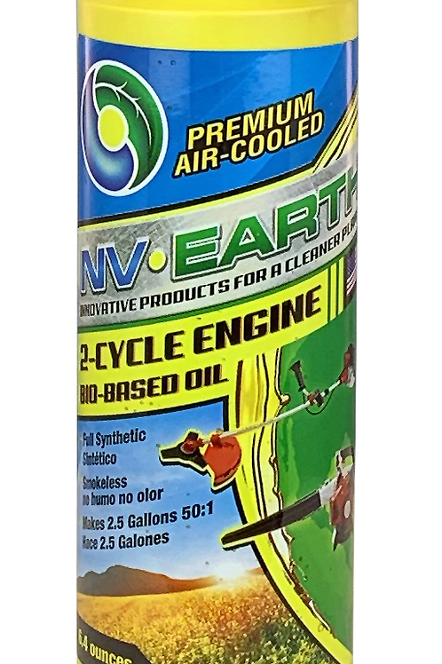 NV EARTH Bio-based Synthetic 2 Cycle Oil 6.4oz (CASE of 42)