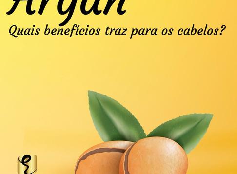 Os benefícios do Argan em seus cabelos