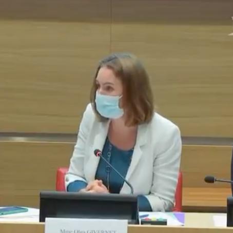 Présidence du CEC - audition de France Stratégie