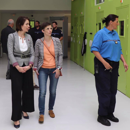 Visite du centre pénitentiaire de Bourg-en-Bresse #GVC