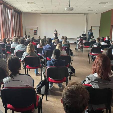 """""""Printemps de l'orientation"""" au lycée de Saint-Genis-Pouilly"""