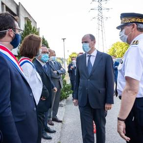 Visite du Premier ministre Jean Castex dans l'Ain