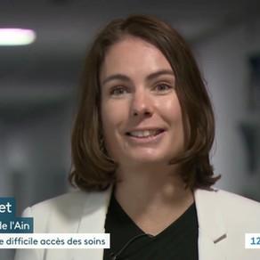 Santé dans le Pays de Gex - Interview sur France 3 Rhône-Alpes