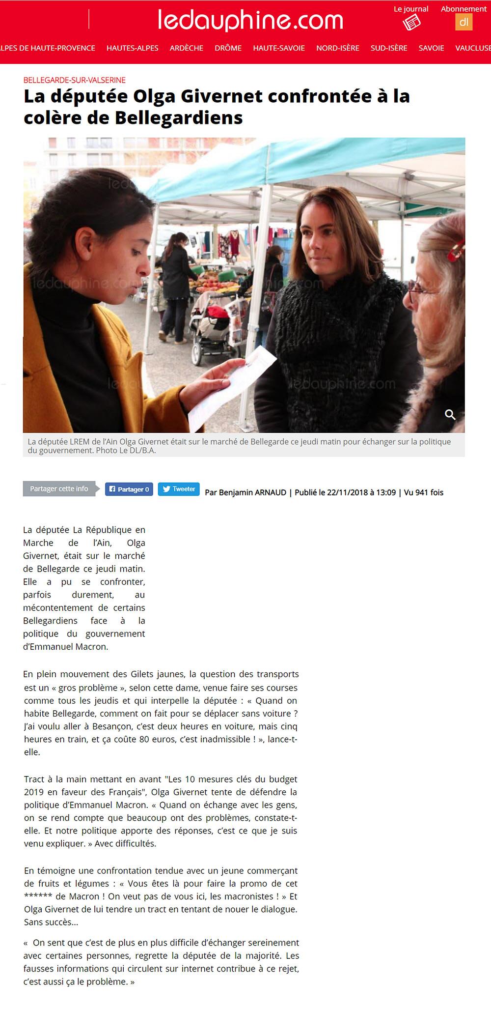 Article La Dauphiné