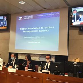 Présidence du CEC : accès à l'enseignement supérieur
