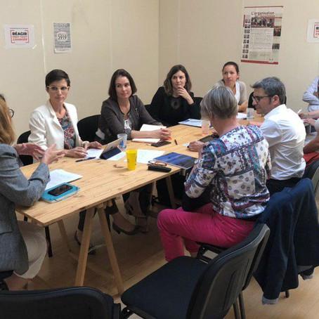 Réunion de travail à Valence #GVC