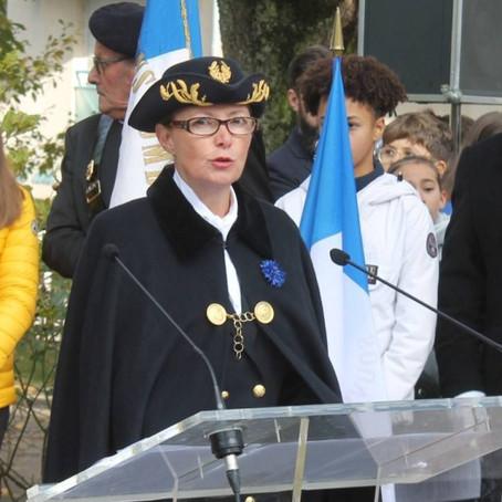 Bienvenue à la nouvelle préfète de l'Ain : Mme Catherine Sarlandie de la Robertie
