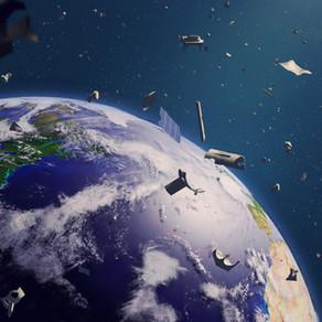 Multiplication des déchets en orbite de la Terre