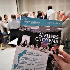 Retour sur les ateliers citoyens 2019
