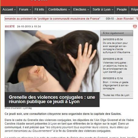 LyonMag.com : GVC une réunion publique ce jeudi à Lyon