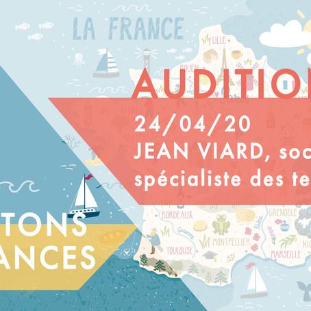 Audition du GT Vacances d'été 2020 : Jean Viard, sociologue spécialiste des temps sociaux